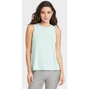 NWOT A New Day Soft & Stretchy Mint Tank Top